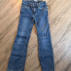 Basic editions boot cut size 7 adjustable waste